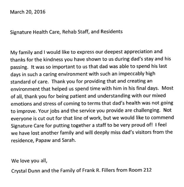 greeneville letter